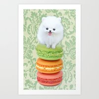 Mt. Macarone Art Print