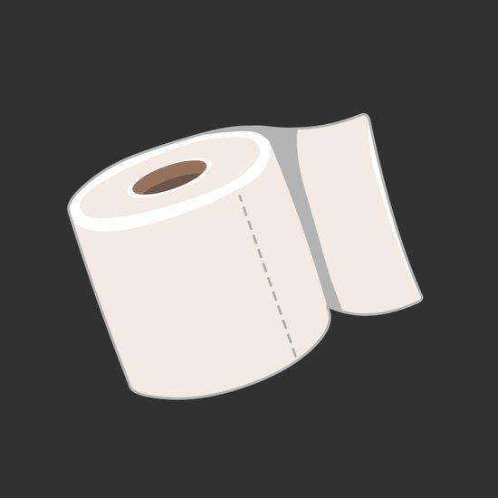 Toilet Paper Art Print
