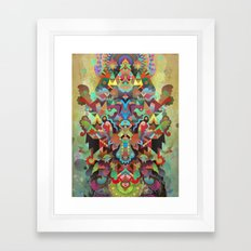Dæmon [treatment 2] Framed Art Print