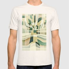 Spaces Mens Fitted Tee Natural SMALL