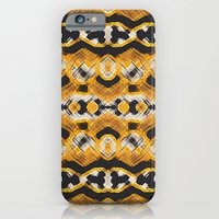 Montana Stripe - Gold iPhone 6 Slim Case