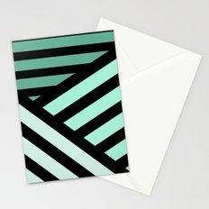 STRIPED {MINT} Stationery Cards