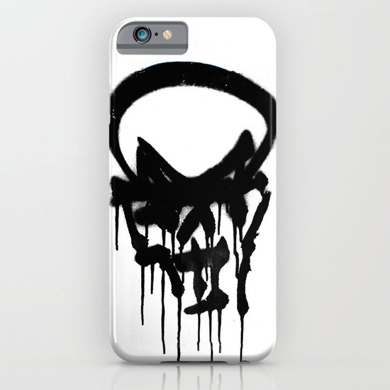 Graffiti Skull iPhone & iPod Case