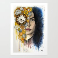 Time Will Tell Art Print