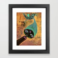 Courage-Bhoomie Framed Art Print