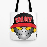 Creative Robot Tote Bag