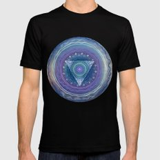 Ajna Third Eye Chakra Mens Fitted Tee SMALL Black