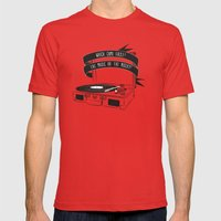 Which Came First, The Mu… Mens Fitted Tee Red SMALL