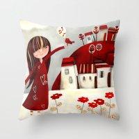 My Bird Throw Pillow