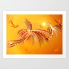 Fairies of the Sun Art Print
