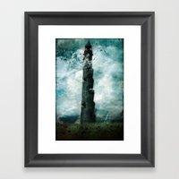 The Dark Tower Framed Art Print
