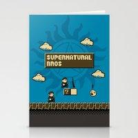 Supernatural Bros. Stationery Cards