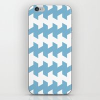 Jaggered And Staggered I… iPhone & iPod Skin
