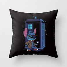The 626th Doctor Throw Pillow