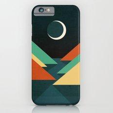 Quiet stream under crescent moon iPhone 6s Slim Case