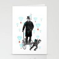 Stationery Cards featuring Lutte Des Classes by Victor Calahan