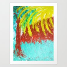Tree of Hands Art Print