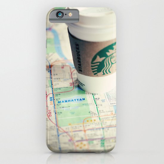 Manhattan and Starbucks iPhone & iPod Case