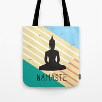 NAMASTE COLOR Tote Bag
