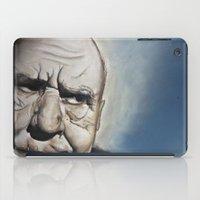 Elderly Man iPad Case