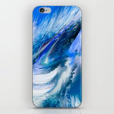 Rapture In Blue   Abstract iPhone & iPod Skin