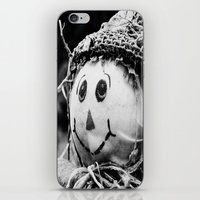 Scarecrow Face iPhone & iPod Skin