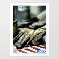 American Machine Shop Art Print