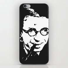 Jean Paul Sartre iPhone & iPod Skin