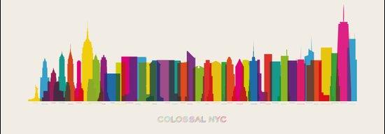Colossal NYC Art Print