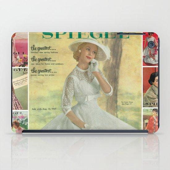 1957 Spring/Summer Catalog Cover iPad Case