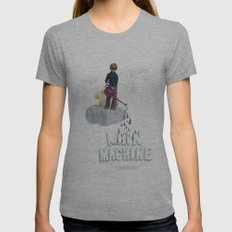 Rain Machine Womens Fitted Tee Athletic Grey SMALL