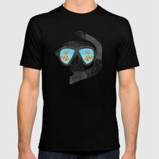 Underwater Attractions  Mens Fitted Tee Black SMALL