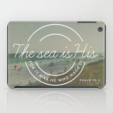Psalm 95:5 iPad Case