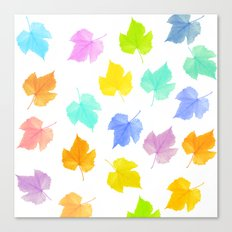 The seasons go by Canvas Print
