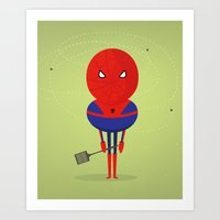 My bug hero! Art Print