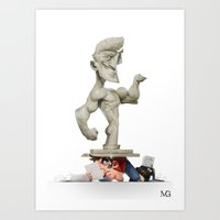 Roman Statue Art Print