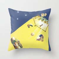 POEM OF BED Throw Pillow