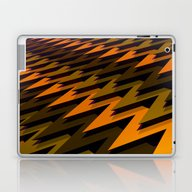 3D Chevrons Laptop & iPad Skin
