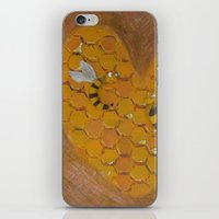 Hunie Bee iPhone & iPod Skin