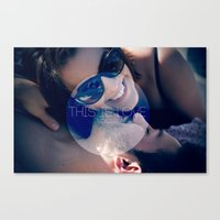 This Is LOVE Canvas Print