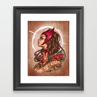 WiTcHeS BE CraZy Framed Art Print