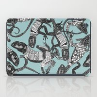 Just Lizards Mist  iPad Case