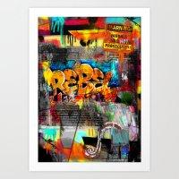Rebel. Art Print