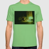 Metamorphosis Mens Fitted Tee Grass SMALL