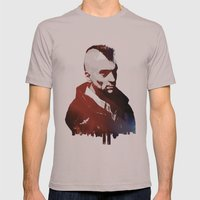 Taxi Driver Mens Fitted Tee Cinder SMALL