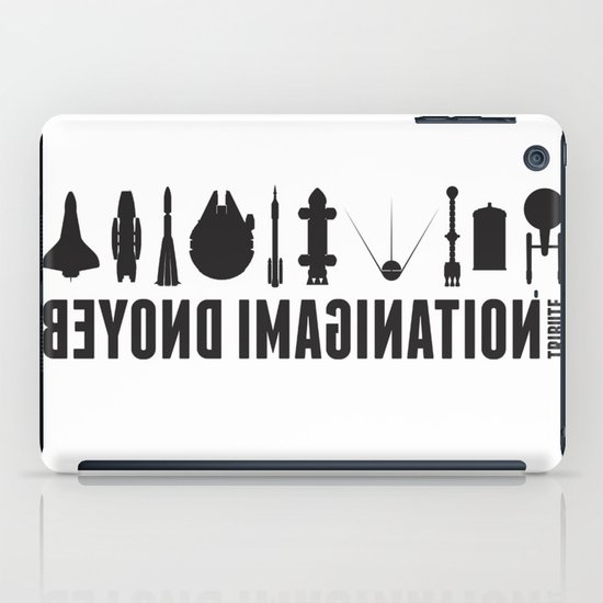 Beyond imagination: USS Enterprise postage stamp  iPad Case