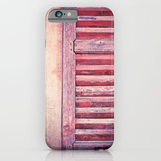Moody weathered shutter iPhone & iPod Case