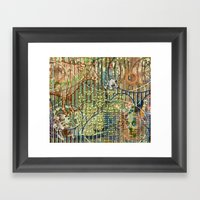 Driving Out Miss Martineau (2) Framed Art Print