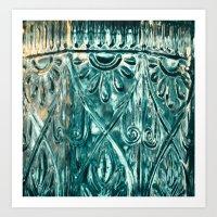 Glass In Sun Art Print