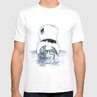 Chapeau Bleu Mens Fitted Tee White SMALL